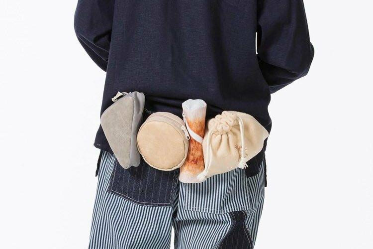 腰にこんにゃく・大根・ちくわ...(笑)おでん種をモチーフにしたウェストバッグがオモロ可愛いと話題に