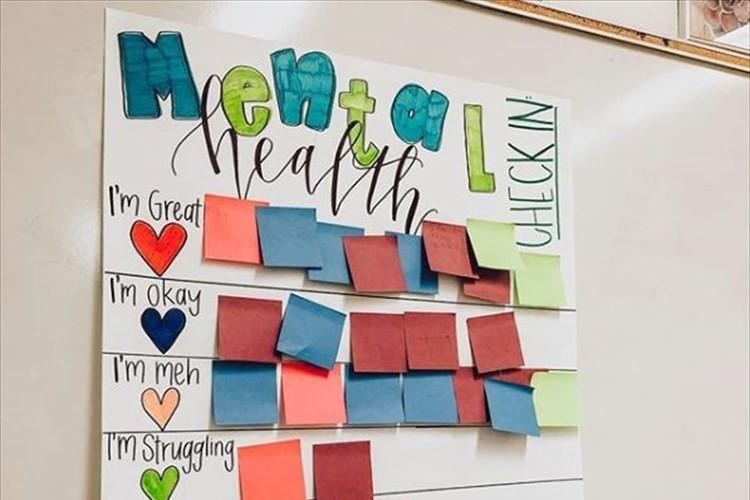 生徒達の心理状態を見極める方法がナイスアイディアだと話題に!アメリカの高校教師が発案