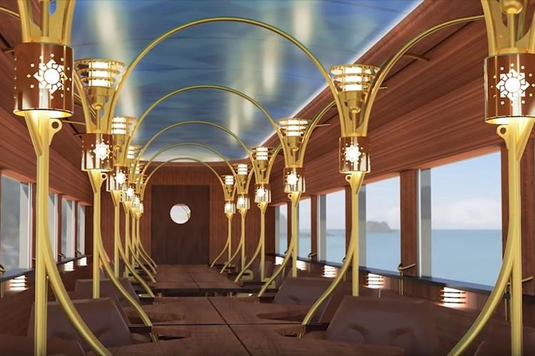 """新たな""""ものがたり列車""""『志国土佐 時代の夜明けのものがたり』が車内デザインを公開!2020年春に運行開始"""