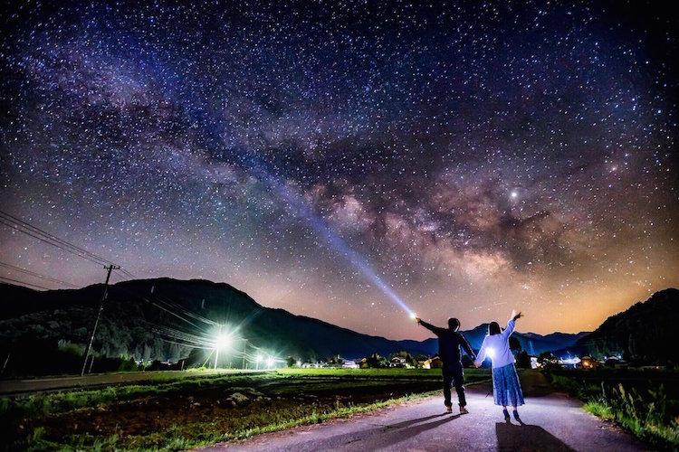 満天の星空!石川県の夜空を撮影した写真が合成かと思うほど美しくてビックリ!