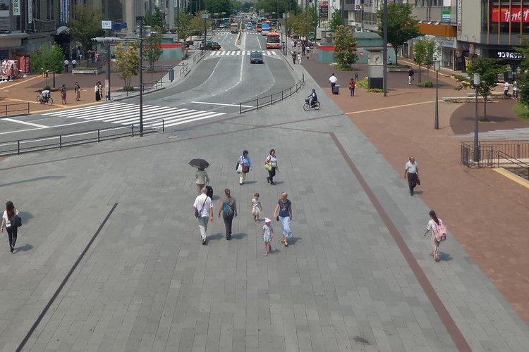 「観光客を絶対に迷わせない!」姫路駅を出た途端に広がる景色に鋼の意志を感じる