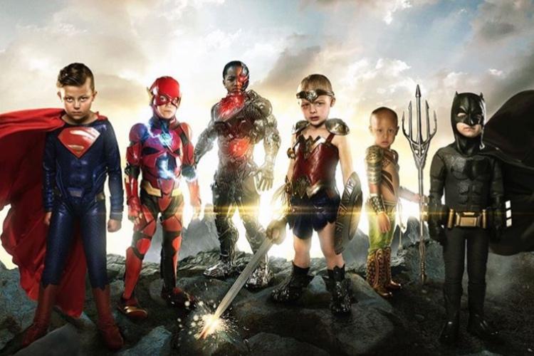 病気や障がいを抱える子どもたちをスーパーヒーローに変身させるカメラマンが素敵すぎる!