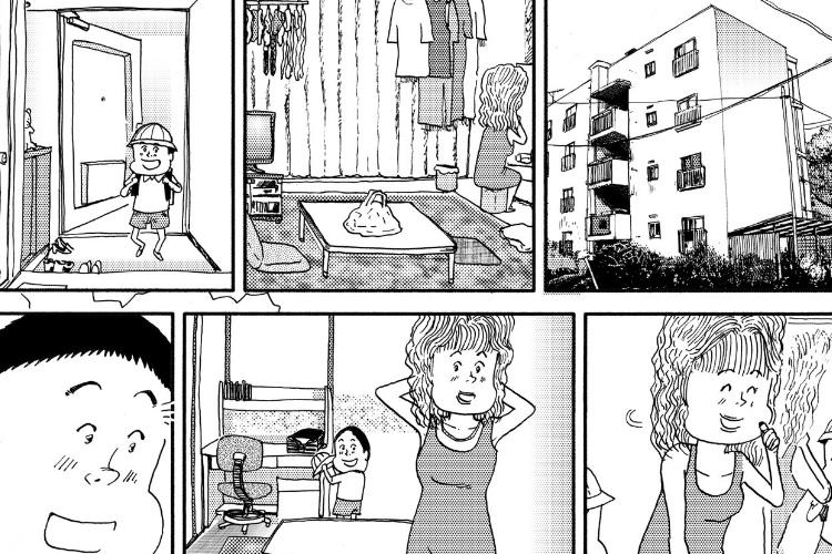 【涙腺崩壊】母と息子が互いを思いやる姿を描いたサイレント漫画がめちゃくちゃ泣ける