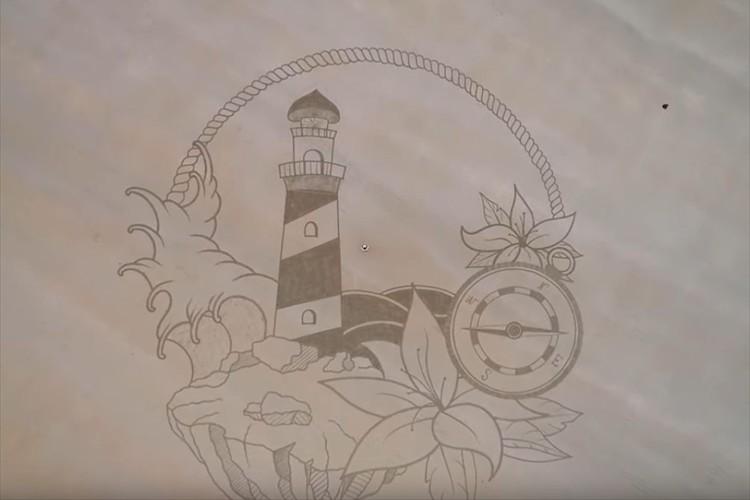 ドローンを天高く飛ばさないと全景が撮れないほど… 砂浜に描かれたアートが巨大すぎると話題に!