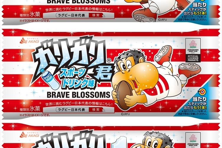 もうすぐラグビーW杯!ラグビー日本代表デザインの「ガリガリ君スポーツドリンク味」が発売!