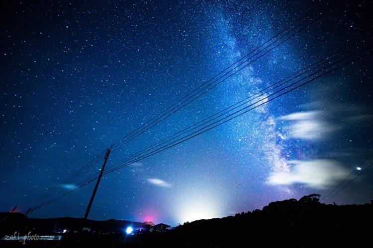 長崎県の離島・五島で撮影した本気の星空が美しいと反響「天の川が綺麗」「心奪われました」