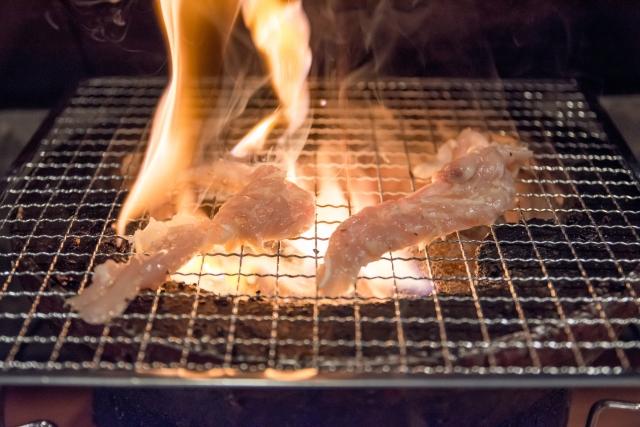 せせりの焼き肉