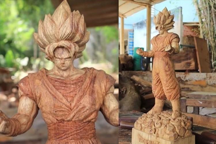 ベトナムの彫刻家が作った木彫りの孫悟空のクオリティが凄すぎる!細部まで見事に再現!