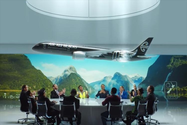 ラグビーに夢中になりすぎて…ニュージーランド航空の社名が「オールブラックス航空」に!?
