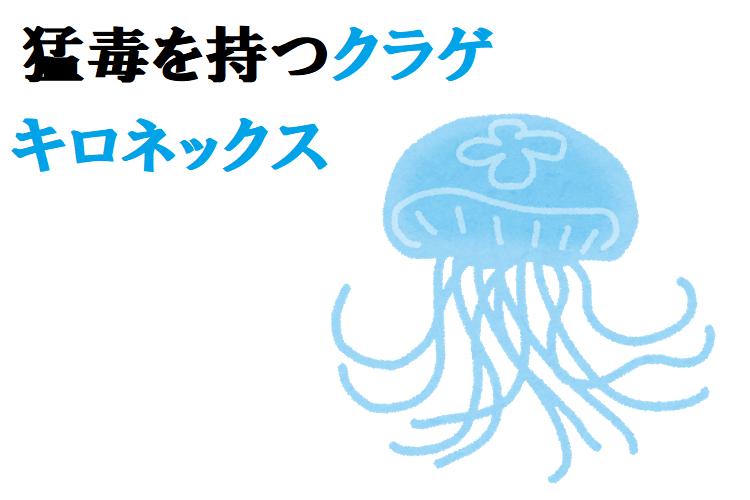 世界最強の猛毒クラゲ「キロネックス」の生態や、その危険性を紹介!