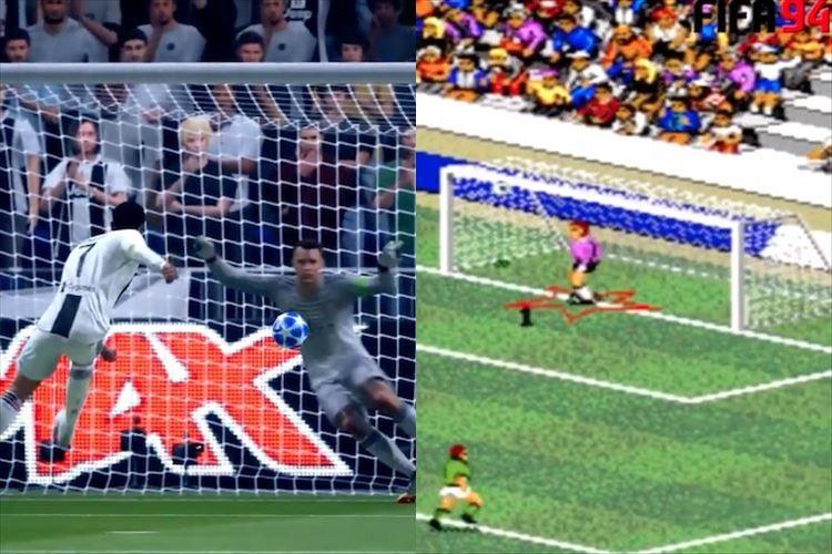 時代の流れを感じるなぁ。「FIFAシリーズ」のPKシーンから見るゲームの進化に驚き!