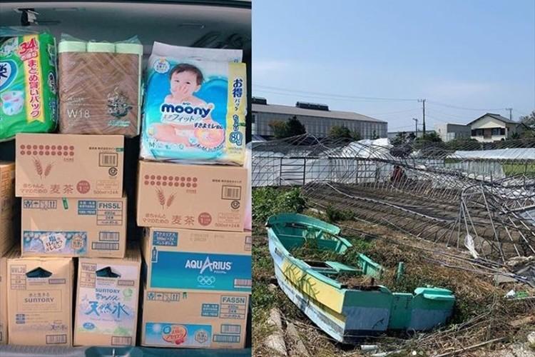 石田ひかりが被災地に支援物資を届ける「個人の力では限界がありますが 居ても立っても居られないので」