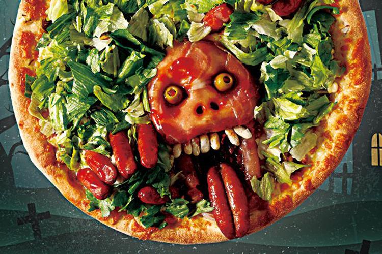 ご注文の際はご一考を・・グロテスクを追求した不気味すぎるピザが今年も登場!