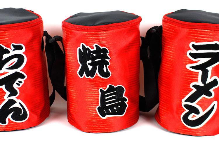 持ってるだけでいい気分(笑)酒場で人気を独り占めできる赤提灯ショルダーバッグが登場!