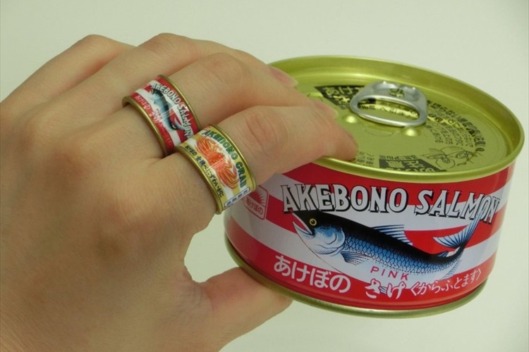 缶詰のデザインそのまま!マルハニチロ公認「缶詰リング コレクション」がガチャガチャで再び登場!