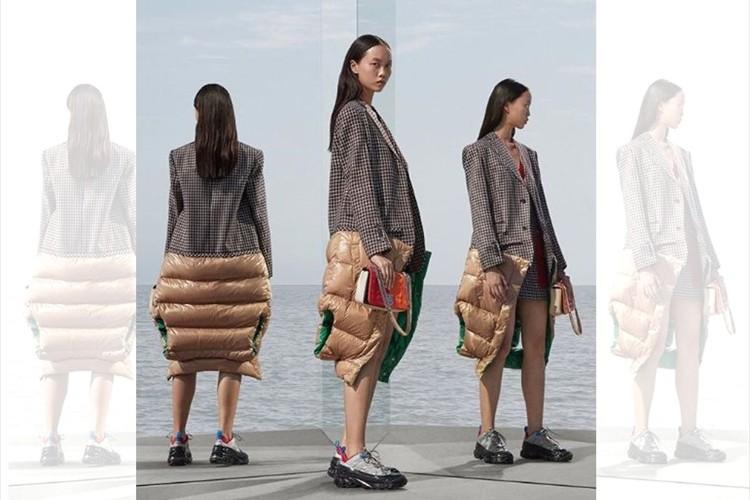 予期せぬシルエット・・バーバリーが発表した秋冬の新作コートがインパクトありすぎ!