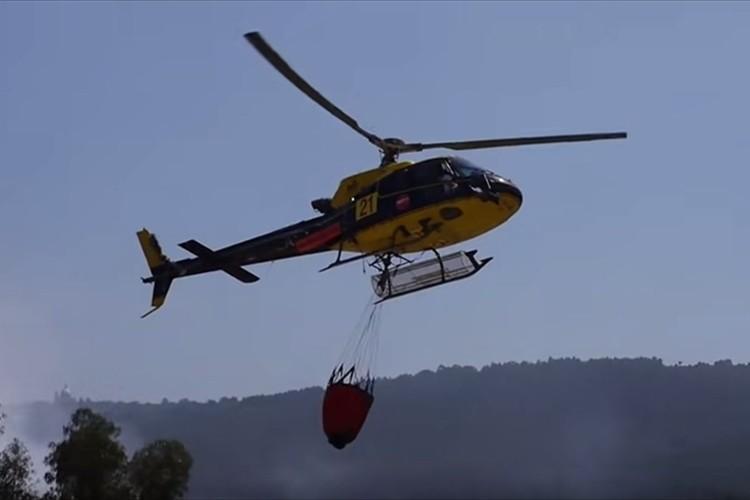 近所で火災が発生!消防のヘリコプターが接近してきたと思ったら驚きの行動に出た!
