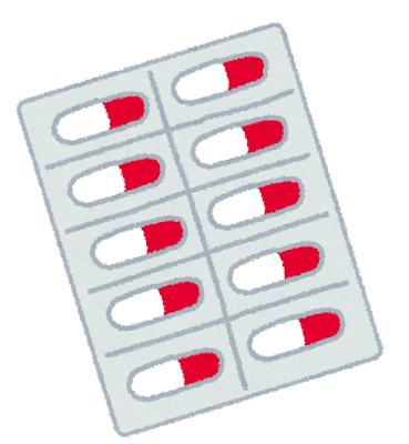 鎮痛薬のイラスト