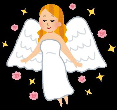 ギリシャ神話に出てきそうな女神のイラスト