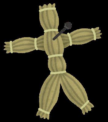 呪いの藁人形