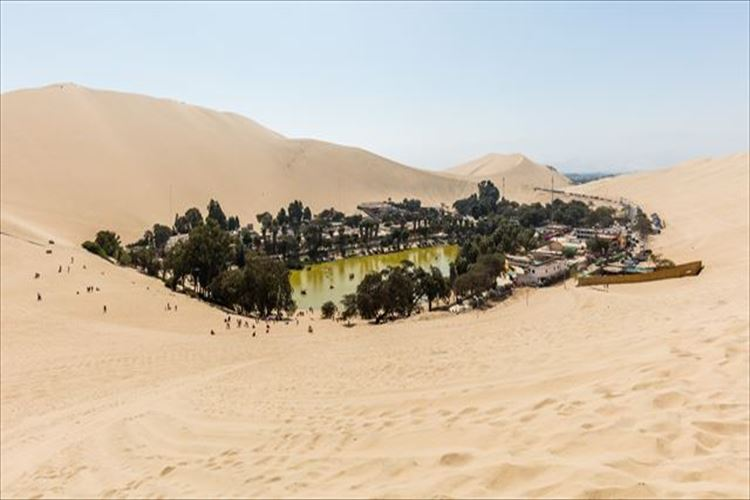 世界の砂漠にあるオアシスを紹介!漫画に出てくるようなオアシスはペルーに存在していた!