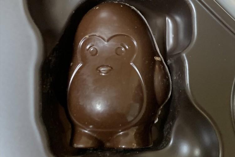 ゴリラ?それともペンギン?どちらにも見えるチョコレートが話題に!「ゴリラにしか見えないです」