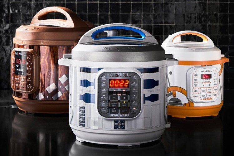 日本でも発売してほしい!スター・ウォーズのキャラクターをイメージした電気圧力鍋が面白い!