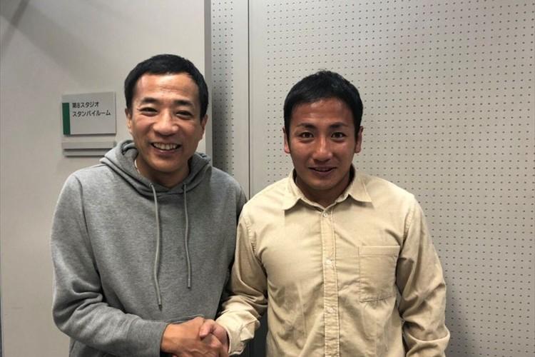似てると話題だったラグビーW杯日本代表・流大がナイツ塙宣之と対面!「思った以上に似てました」