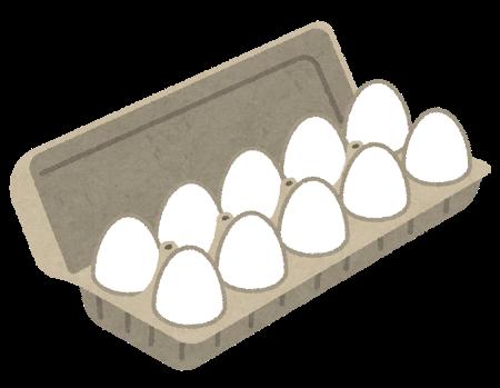 卵パックのイラスト