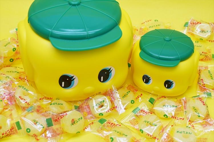 フエキどうぶつ糊とパインアメのコラボ商品『フエキ×パインアメ』が登場!中にはアメがいっぱい!