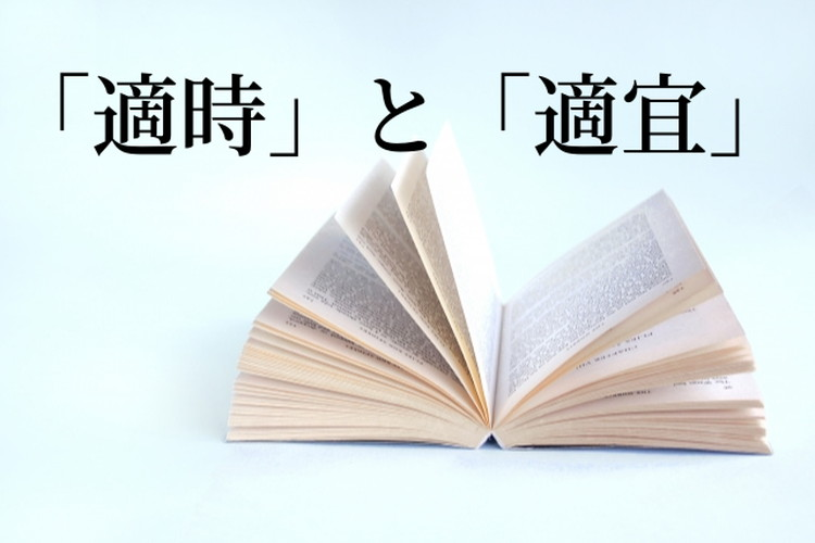 「適時」と「適宜」は似ている言葉だけど意味が違う!使い分けるポイントは?