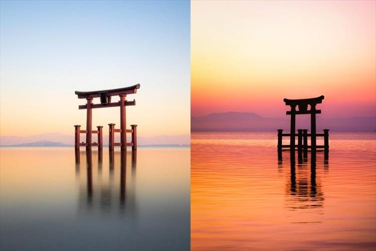 神様がそこにいるようです。琵琶湖の中に鳥居を構える『白髭神社』が神秘的だと話題に!