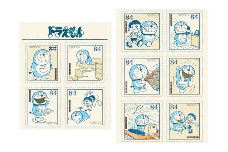 グリーティング切手に『ドラえもん』が登場!コミックス連載初期のカットを厳選