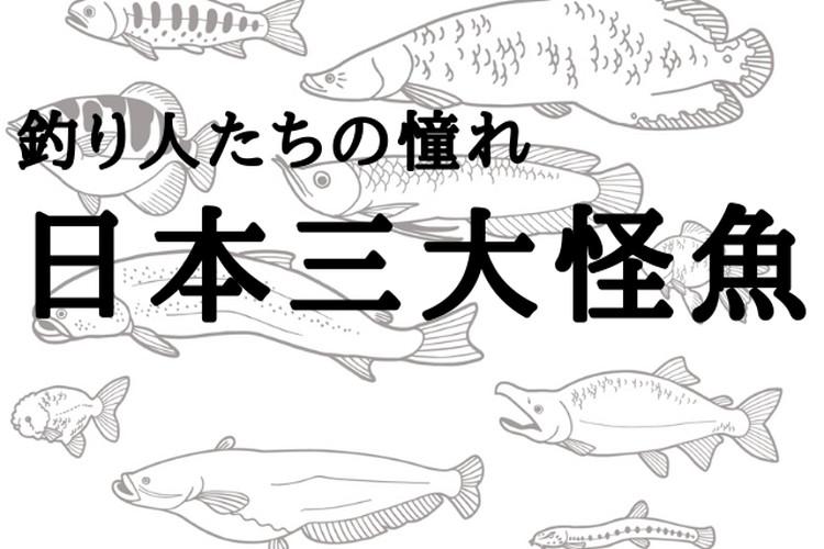 【日本三大怪魚】それは希少性の高い釣り人たちの憧れの魚たち