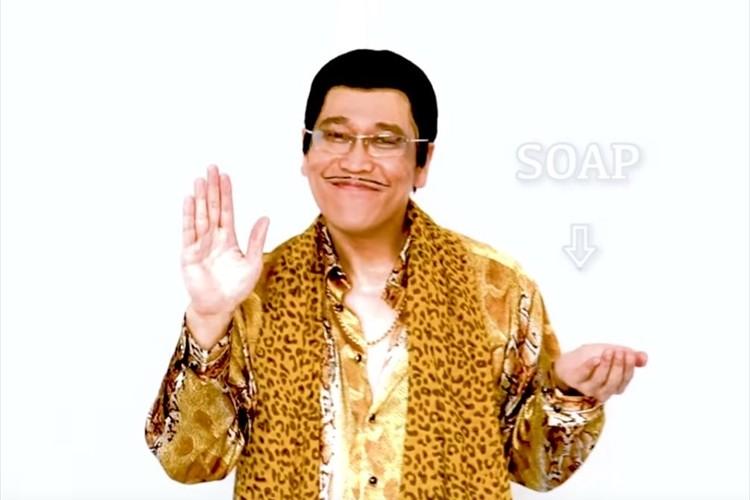 みんなでWash!Wash!Wash!ピコ太郎が全世界へ向けて「PPAP」2020年版を公開!