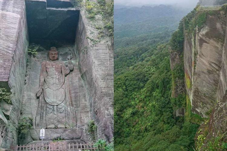 異国のようですが日本です。巨大な大仏も見られるこの場所がどこか分かりますか?