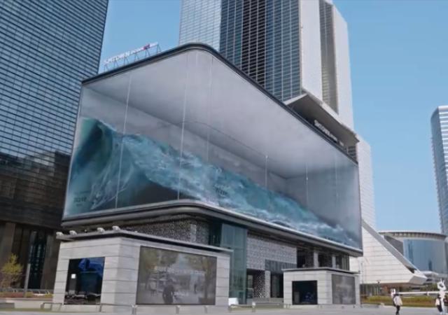 見入ってしまう!韓国の超リアルな波のデジタルアート作品「WAVE」が凄すぎる