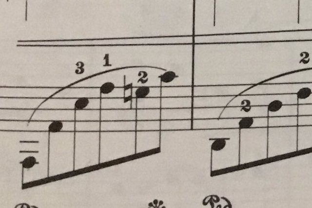 一度意識するともうダメ(笑)楽譜の記号が「おすわりしている犬」にしか見えない!?
