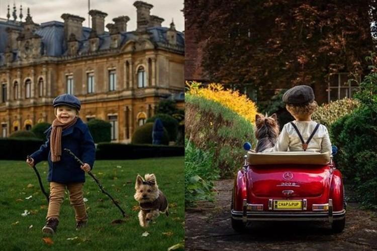 2歳の男の子とワンコがヨーロッパを冒険!一枚一枚の写真が映画のワンシーンのよう