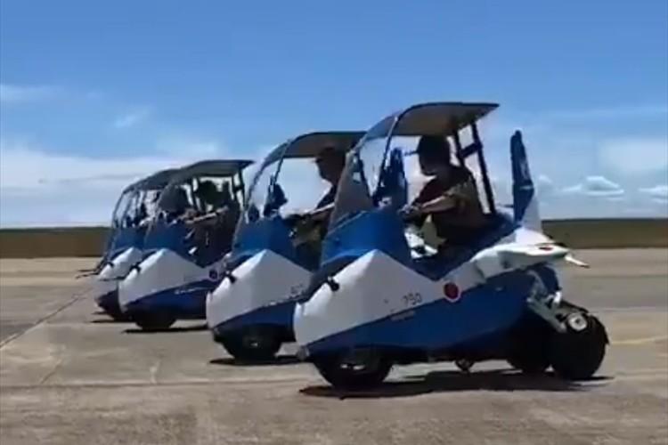 なんだろう、可愛い(笑)航空自衛隊の松島基地に「ブルーインパルスJr.」が存在していた