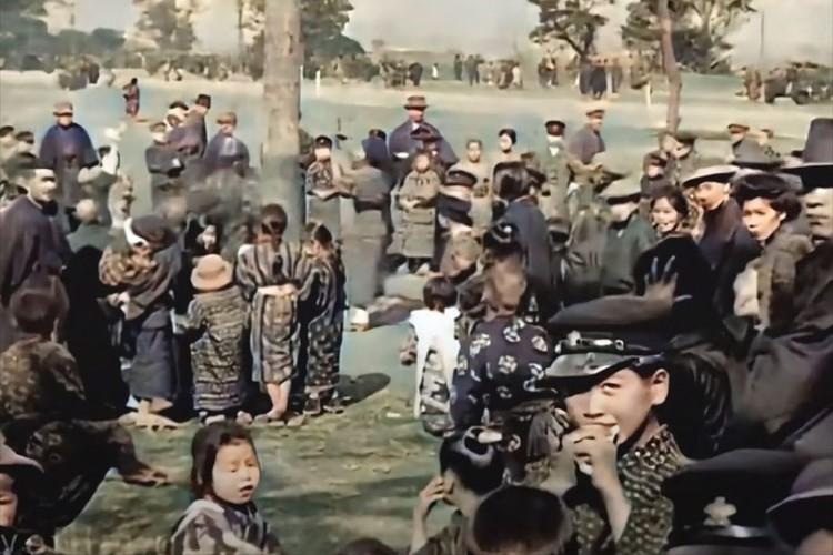 当時の息吹が聞こえてくる・・・大正時代に撮影された東京の街並みを4Kカラー映像化