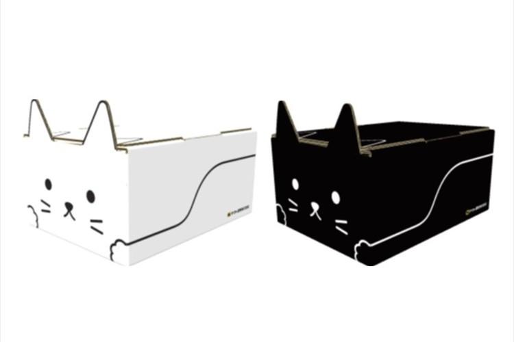 ヤマトがネコの形をした段ボール「ネコ耳BOX」を発売中!お届けものが楽しくなるニャン