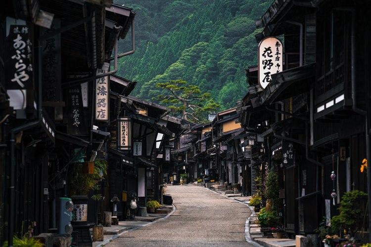 江戸時代にタイムスリップしたよう・・・奈良井宿のノスタルジックな雰囲気が素敵