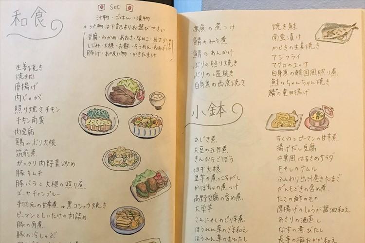 食べたい物を聞くと「分からない」という夫に向けて作ったメニュー表が凄い!