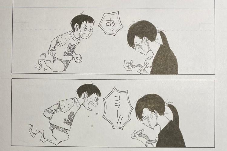 最後の一コマに涙腺崩壊!亡くなった息子と両親を描いた漫画『息子は囁く』にめちゃくちゃ感動
