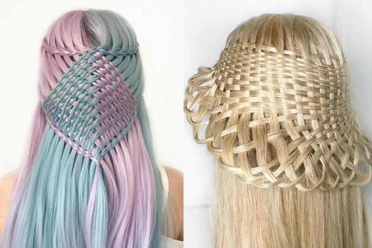 髪の毛の芸術作品!ドイツの17歳の女の子が独学で習得したヘアアレンジ術が凄すぎる