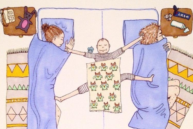 ノルウェーのママが子育てのリアルな一面をユーモラスに描いたイラストに世界中のママが共感!