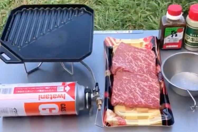 ただただ和牛モモステーキを焼いてハートランドビールをキメるだけの動画に惹き込まれる!