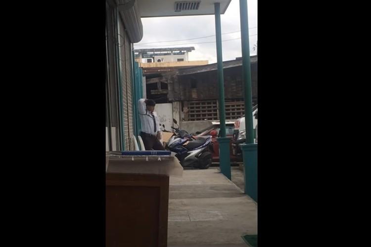 キレッキレなダンスを自撮り(笑) フィリピンで目撃されたダンシングガードマンが話題に!