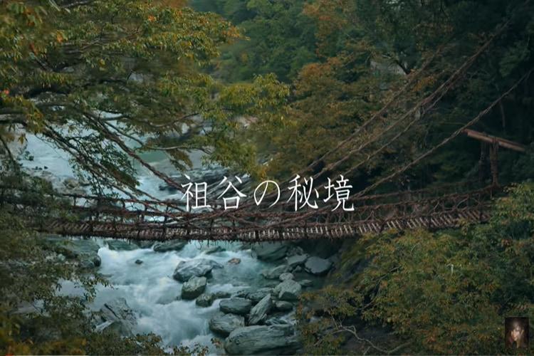 【動画で巡る秘境旅!】祖谷の秘境とかずら橋を巡る動画が凄いと話題に!?